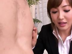 aika hoshino sucks and fucks a hard penis until