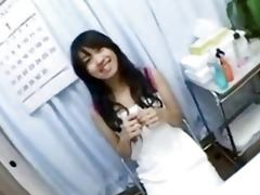 oriental playgirl creampie fucked and fingered on