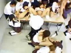 oriental schoolgirl enjoyment