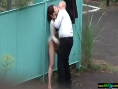 outdoor perverted japanese beauty acquire drilled