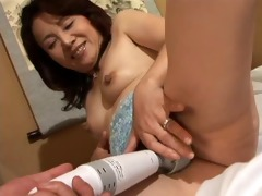 japanese aged plays with vibe (uncensored) -