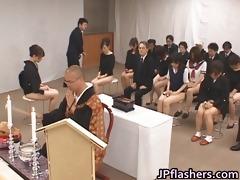 oriental girls go to church half s garb part5