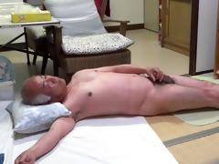 japanese old chap masturbation good feelings