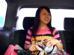 amateur korean hooker in the car