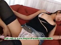 risa aian hawt hotty sweet chinese doll receives