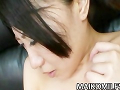 older jap hottie shizuka saeki acquires her love