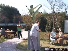 mad japanese bronze statue moves part2