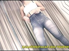 lovely thai hotty grotesquely fucked by unsightly