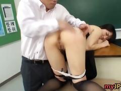 azusa nagasawa oriental large boobed teacher