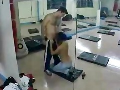 paki indian muslim hotty gym romp with paki tutor