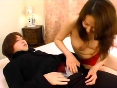 very marvelous japanese angel creampied