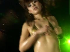 micro bikini oily dance 9 scene 10 - tomo ikeno