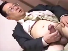 japan dad have large dong stroking