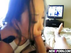 lustful oriental girlfriend makes her st porn