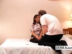 subtitled cfnm japanese woman white boyfriend