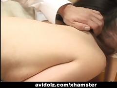 japanese schoolgirls share a cock with teacher