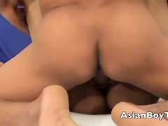 oriental twink getting screwed