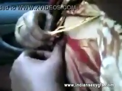 indian aunty giving blowjob to driving school
