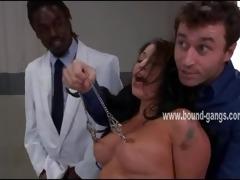 hawt oriental brunette tortured