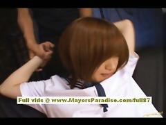 azusa itagaki hawt oriental sweetheart has a sexy