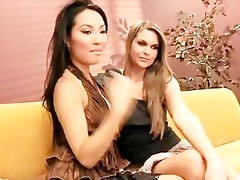 adrienne manning and asa akira - web livecam show