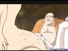 bondage japanese anime bigtits gangbanged by