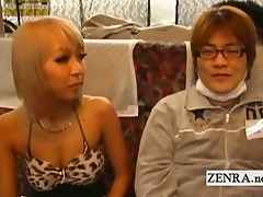 subtitled japanese gyaru virgins bus ride rock