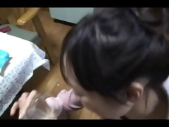 japanese legal age teenager blowjob and use cum