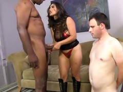 oriental wench wife go darksome while white hubby