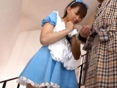 japanese sweety shows undies upskirt