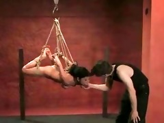 asian sexy honey tricked into being bound