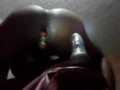 penetracion con bolas chinas y grueso vibrator