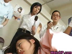 oriental wife is examining mmf workers 5 part11