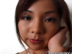 asian chick in pants using a marital-device part7