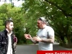 arab boy visits an amsterdam hooker
