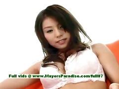aya hirai virginal chinese beauty has a cute