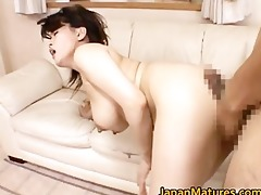 miki sato real oriental mum has three-way part4