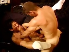 red head muscle fucks oriental in cbt vid.