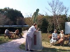oriental statue woman