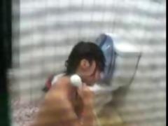 hidden cam korean shower