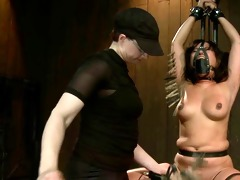 plumper oriental slave caged 2