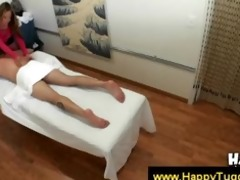 oriental masseuse petting chaps body