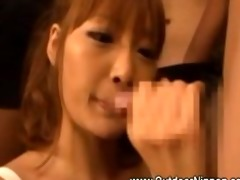 slutty oriental gives multiple bjs to favourable