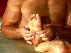 erotic foot worship