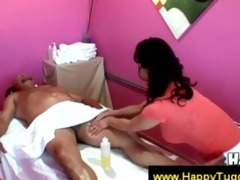 cute oriental masseuse strips