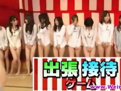 asian honeys in weird oriental game show