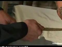rope slavery oriental throat screwed
