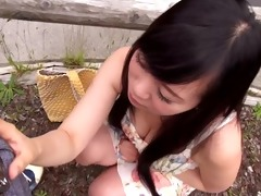 gorgeous oriental girl performed anywhere