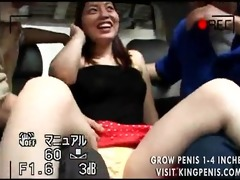 asian cutie played with in the backseat during
