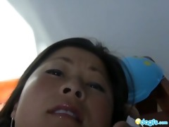 real oriental gf courtney sliding marital-device